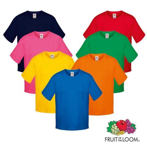 Camiseta Niño Heavy Fruit (color)  190 GR