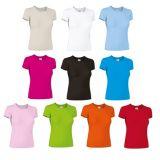 Camiseta color m/c  mujer Tiffany 190gr (VLN)